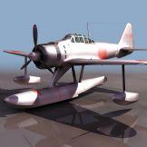 水陆两用飞机模型