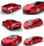 法拉利赛车模型