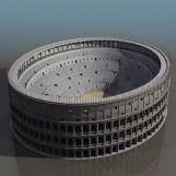 古罗马角斗场3D模型