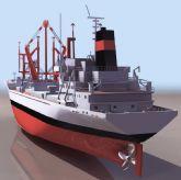 运输船模型