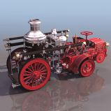 3D蒸汽机车