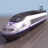 高速列车模型(和谐号模型)