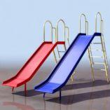 滑滑梯模型