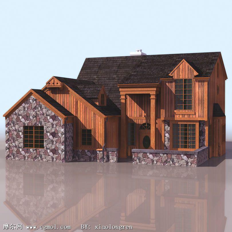 欧式房屋模型(高质量)图片