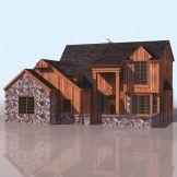 欧式房屋模型(高质量)