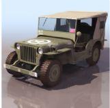 越野汽车3D模型