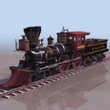 欧式火车模型