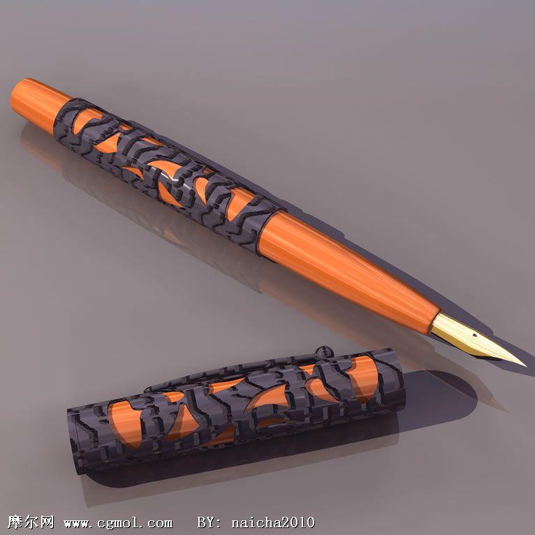 3D钢笔模型