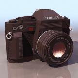 相机3D模型