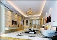 新古典现代风格客厅模型(高清)