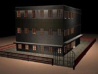 旧式房子场景模型