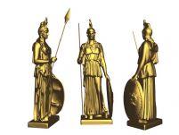 雅典娜女神3D模型