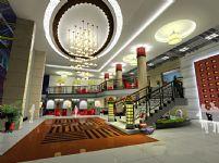 豪华时尚大厅3D模型