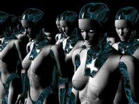 机器工厂女机器人3D模型