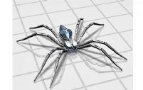 3D蜘蛛模型