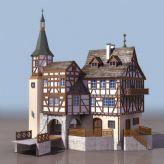 欧式城堡3D模型
