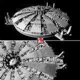 3D未来飞行城市模型