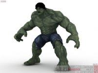 绿巨人3D模型
