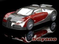 布加迪威龙3D模型