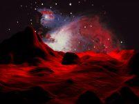 3D红色星球场景模型
