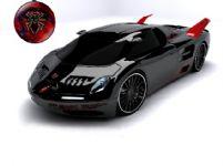 黑色跑车3D模型