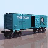 火车后挂货箱3D模型