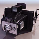 旧式宝丽来相机3D模型