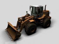 装载机3D模型
