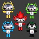 奥运福娃3D模型