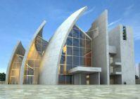 展览厅建筑3D模型