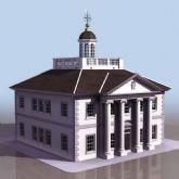 欧式建筑3D模型