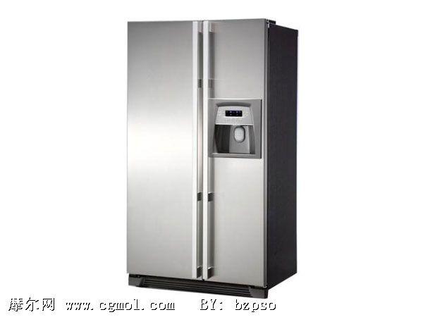 冰箱3d模型,家用电器,电子电器