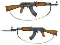 AK47步枪3D模型