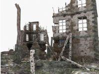 破旧建筑3D模型