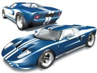 3D福特GT40模型