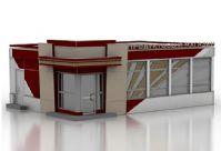 店铺外观设计3D模型