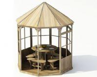 休憩凉亭3D模型