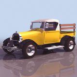 福特汽车3D模型