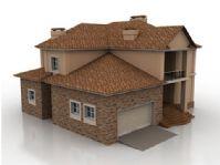 家庭住宅3D模型