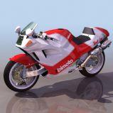 摩托3D模型