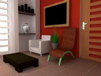 3D居室模型