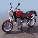宝马摩托3D模型