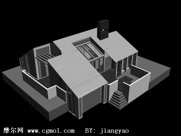 3d 3d for Software to model a house