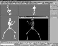 人体骨骼动作3D模型