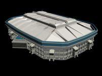 大型体育场3D模型