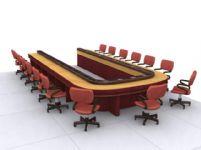 会议桌3D模型