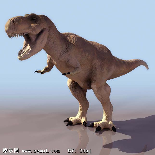 霸王龙3d模型,其他,动物模型
