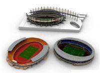 露天体育场3D模型