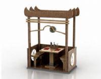 别致个性凉亭3D模型