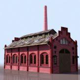 3D欧式建筑